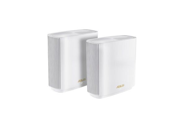 Asus ZenWiFi AX Whole-Home Tri-Band Mesh WiFi 6 System 2 Pack