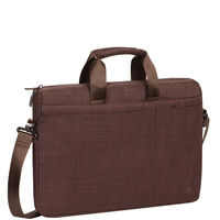 "Rivacase Laptop bag 15.6"" , Brown"