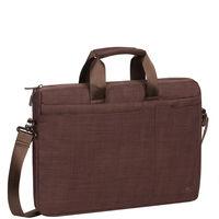"Rivacase Laptop bag 15.6"" , Brown"
