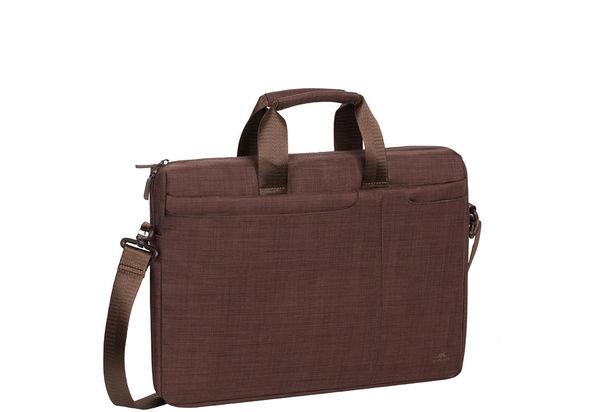 Rivacase Laptop bag 15.6  , Brown