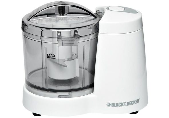 Black & Decker SC350 Mini Food Chopper, White
