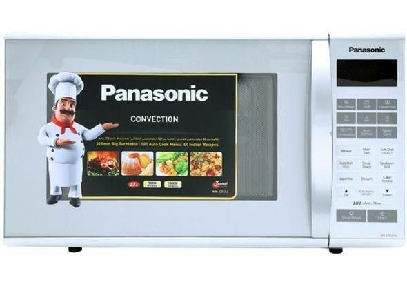 Panasonic Convection NNCT651M 27 Liter Microwave Oven, Silver