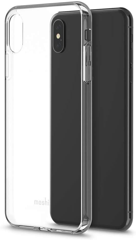 Moshi H-103905 iPhone XS Max Vitros Case, Crystal Clear