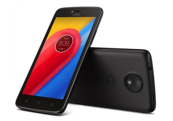 Motorola Moto C Smartphone LTE, Black