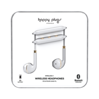 Happy Plugs Wireless II Wireless Headphones, White