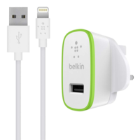 Belkin Ultra-Fast USB Charger with 1.2M Lightning Cable, White