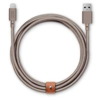 Native Union Belt Cable XL 3 Meter Lightning, Taupe