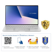 """Asus ZenBook 14 UX433FA i5 8GB, 256GB 14"""" Laptop, Icicle Silver"""