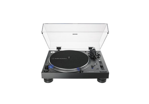 Audio Technica AT-LP140XP Direct-Drive Professional DJ Turntable, Black