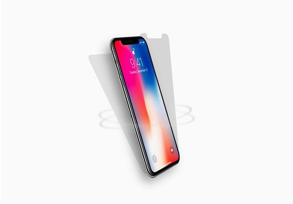 Cygnett (CY2287CPHAL) Shock Absorbing Front & Back Screen Protector for iPhone X