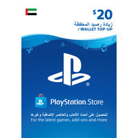 Sony Wallet top up 20 USD