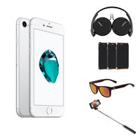 Apple iPhone 7 Plus, 128GB Smartphone LTE, Silver