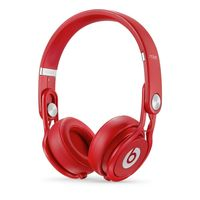 Beats Mixr High-Performance Headphones, Red