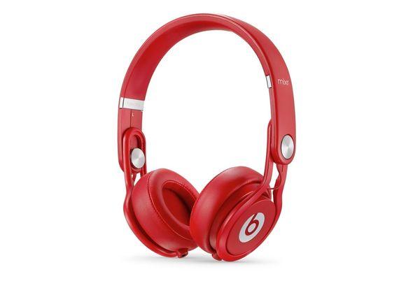 Beats Mixr High-Performance Headphones, Red