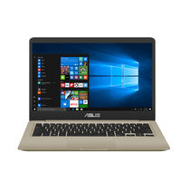 "Asus VivoBook S14 i7 8550U, 8GB RAM, 512GB SSD, 2GB Graphic Card, 14"" Laptop, Gold"