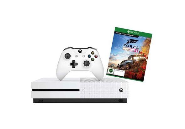 Microsoft Xbox One S 1TB Console with Forza Horizon 4