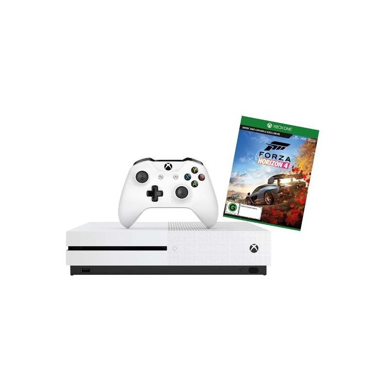 Microsoft Xbox One S 1TB Console with Forza Horizon 4