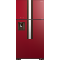 Hitachi RW760PUK7GRD 760L Inverter French Door Refrigerator, Glass Red