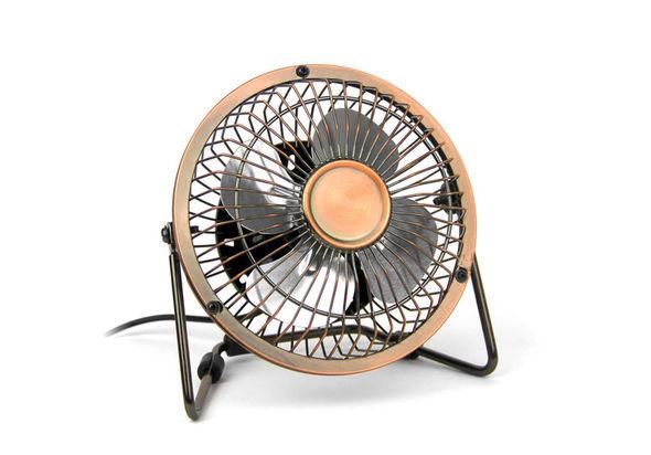 Satzuma Desk Fan - Bronze