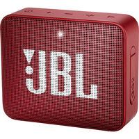 JBL GO 2 Portable Bluetooth Speaker,  Ruby Red