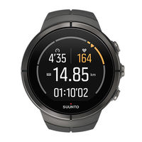 Suunto Spartan HR Watch, Ultra Stealth Titanium