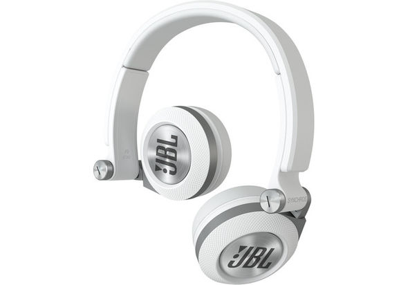 JBL Synchros E30 On-Ear Headphones, White