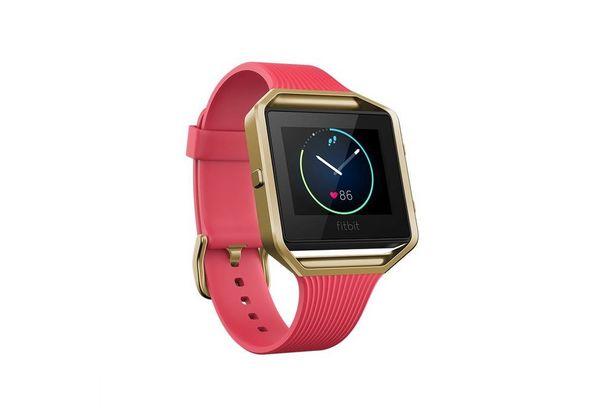 Fitbit Blaze Smart watch Large, Pink/Gold