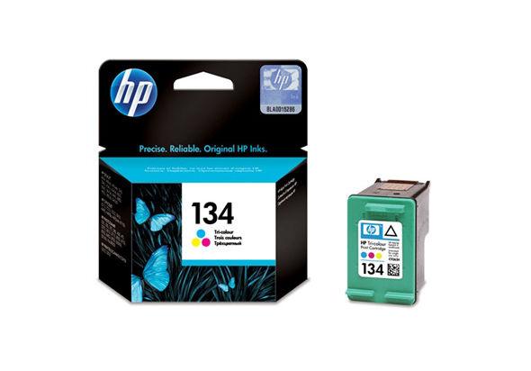 HP C9363HE 134 Tri-color Original Ink Cartridge