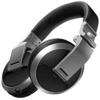 Pioneer HDJ-X5-S Over Ear DJ Headphones, Silver