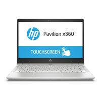 لاب توب اتش بي بافليون , HP Pavilion x360 i5-8250/8/1+ 128/2D/W10, فضي