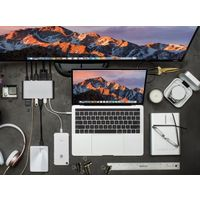 HyperDrive GN30 USB Type C Ultimate Hub, Silver