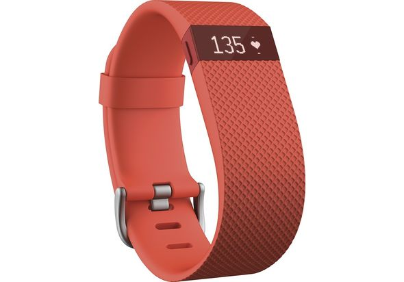Fitbit Charge HR Activity Tracker+ Heart Rate Large, Tangerine
