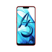 Oppo A5 Smartphone LTE,  RED