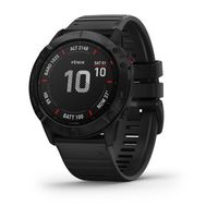 Garmin Fenix 6X Pro Edition Multisport GPS Watch, Black