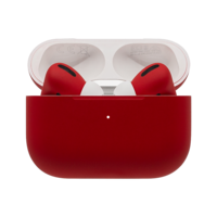 Customized Apple Airpods Pro by Switch,  Ferrari Red, Matte