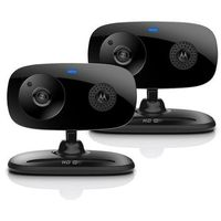 Motorola Focus 66 Twin Pack Wi-Fi HD Audio and Video Home Monitoring Camera