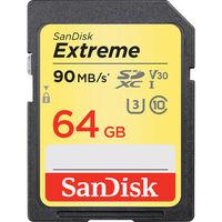 SanDisk 64GB Extreme UHS-I SDXC Memory Card