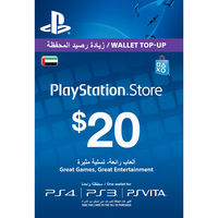 PlayStation Live Card $20