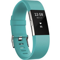 Fitbit Charge 2 Fitness Wristband Large, Teal
