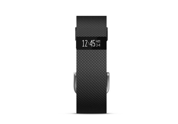 Fitbit Charge HR Fitness Tracker, Large - Black