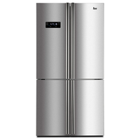 Teka 626 liters Free standing Side by Side Refrigerator NFE4 900X, Multizone compartment, Full No Frost, Stainless steel