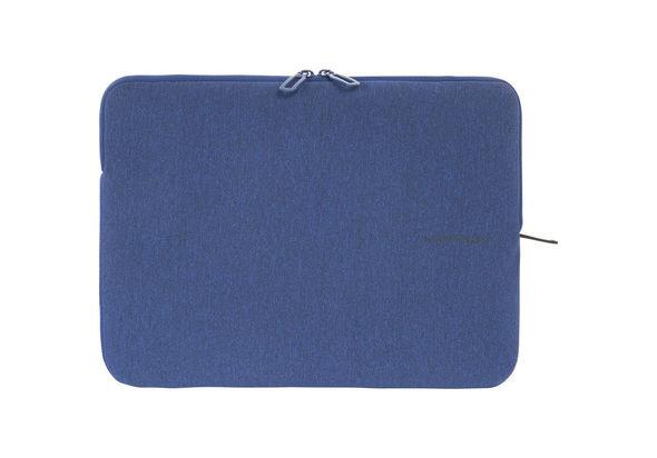 Tucano Melange Second Skin Neoprene Sleeve for 13.3  and 14  Notebooks, Blue