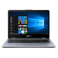 "Asus VivoBook Flip 14 i7 16GB, 1TB, 256GB 2GB Nvidia GeForce MX130 Graphic 14"" Laptop, Grey"