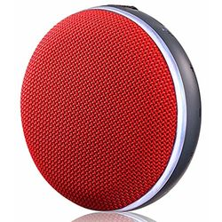 LG PH2 Portable Water-Resistant Bluetooth Speaker, Red