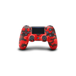Sony PS4 DualShock 4 Wireless Controller, Red Camou