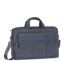 "Rivacase 7530 Laptop Canvas shoulder bag 15.6"" , Grey"