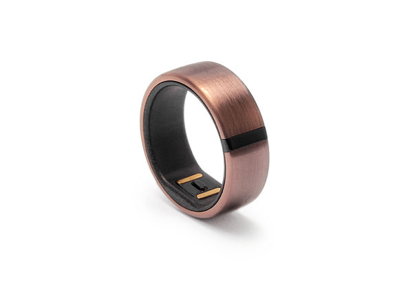 Motiv Ring Fitness, Sleep and Heart Rate Tracker Size 10,  Rose Gold