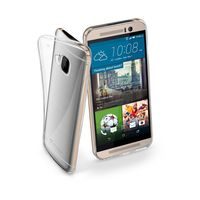 Cellularline FINE Rubber Case For HTC One M9, Transparent