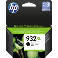 HP 932XL High Yield Original Ink Cartridge, Black