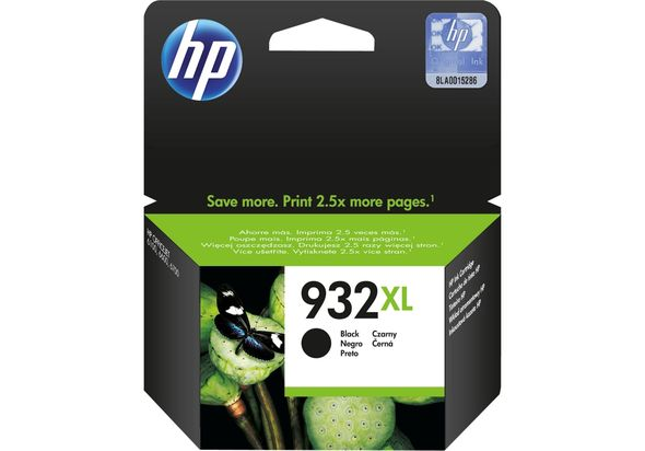 HP 932XL High Yield Original Ink Cartridge, Black